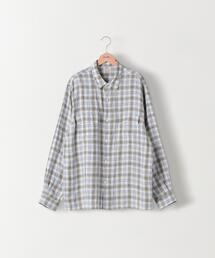 <Steven Alan>MONTI 2P REGULAR COLLAR SHIRT-BOLD/シャツ