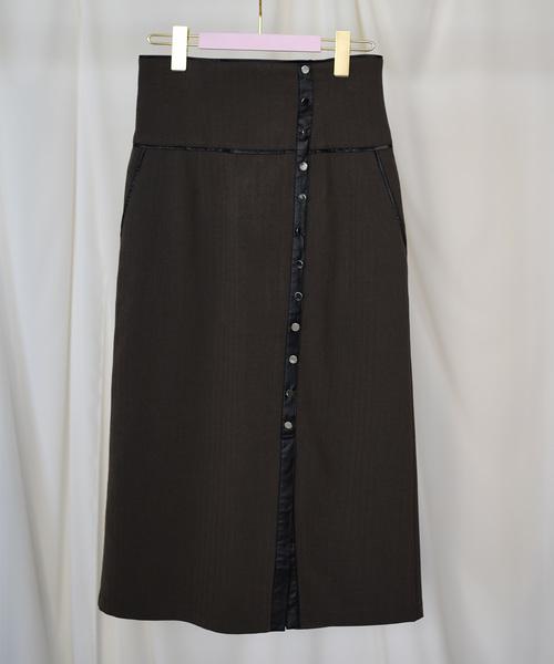 【Eimee Law】パイピングタイトスカート