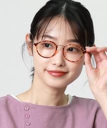 ボストン型伊達眼鏡 9557 SPIブラウン