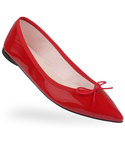 repetto | 【37-37.5】BALLERINA / BRIGITTE ( PATENT / Black, Red )(バレエシューズ)