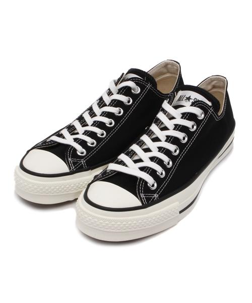 CONVERSE(コンバース)の「CONVERSE コンバース オール スター ジャパン オックス / ALL STAR J OX (BLACK) 32167431(スニーカー)」|ブラック