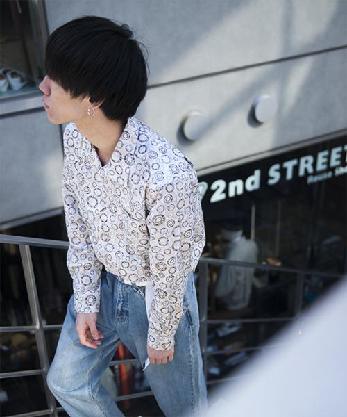 GGD / 【ROBERT KAUFMAN / ロバートカウフマン】オープンカラーシャツ 日本製-made in Japan-