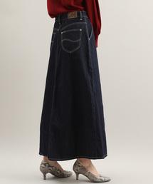 Lee(リー)の【Lee×ViS】デニムロングスカート(デニムスカート)