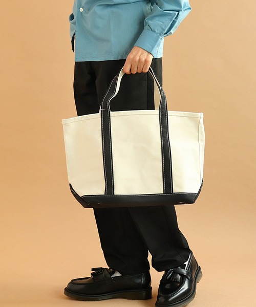 【 L.L.Bean / エルエルビーン 】CANVAS TOTE BAG MEDIUM Handles/Regular