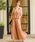 Fashion Letter(ファッションレター)の「レーストップスサイドプリーツセットアップ 結婚式ワンピース パンツドレス(ドレス)」|詳細画像