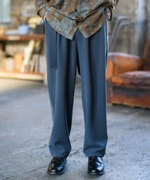 Casper John(キャスパージョン)のDrape Tapered Belt Pants/ドレープテーパードベルトパンツ(パンツ)