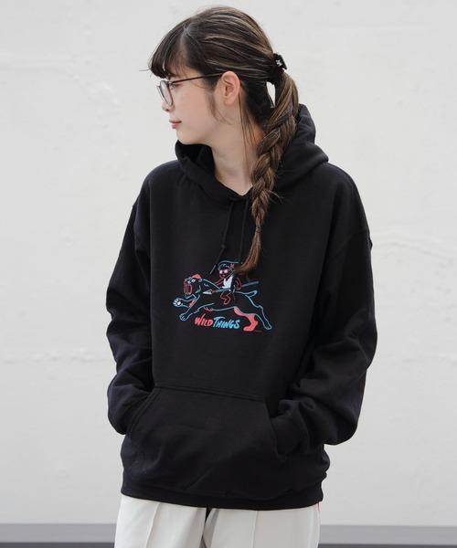 WILDTHINGS / ワイルドシングス ニガムシプリントパーカー NIGAMUSHI