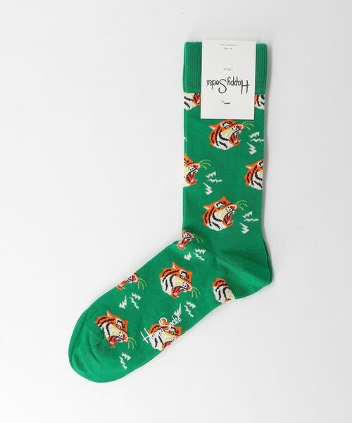 [ ハッピーソックス ] Happy Socks タイガーソックス 靴下