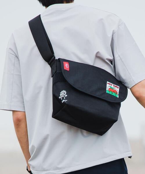 【 WEB限定 】 [ マンハッタンポーテージ ]  キースへリング メッセンジャーバッグ