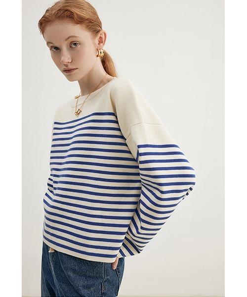 【Fano Studios】【2021AW】Stripes contrast sweater FD21S073