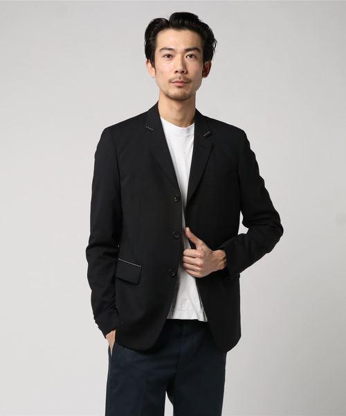 豪奢な 【セール】JAPAN MADE MADE ポプリン 3BS 3BS スタッズジャケット(テーラードジャケット)|Pretty ポプリン Green(プリティーグリーン)のファッション通販, 神戸のフラワーギフト GROUND:67979745 --- kredo24.ru