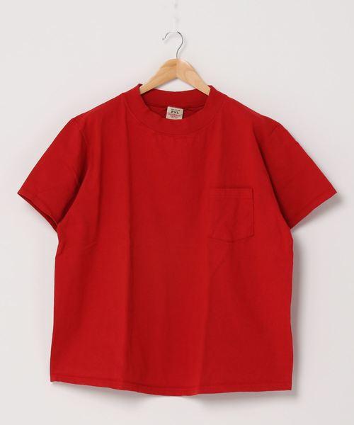 GOODWEAR / グッドウェア モックネックビッグTシャツ