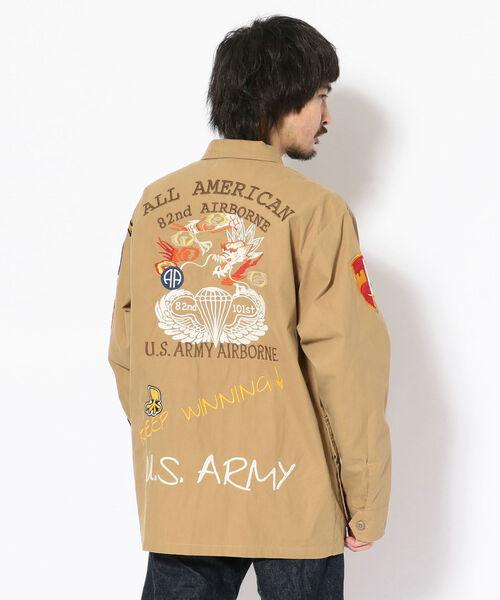 【超特価SALE開催!】 【セール】U.S.アーミー ジャングル ファティーグシャツ/U.S.ARMY JUNGLE FATIGUE ジャングル SHIRT(ミリタリージャケット) FATIGUE|AVIREX(アヴィレックス)のファッション通販, アバソン:396db9e2 --- tsuburaya.azurewebsites.net