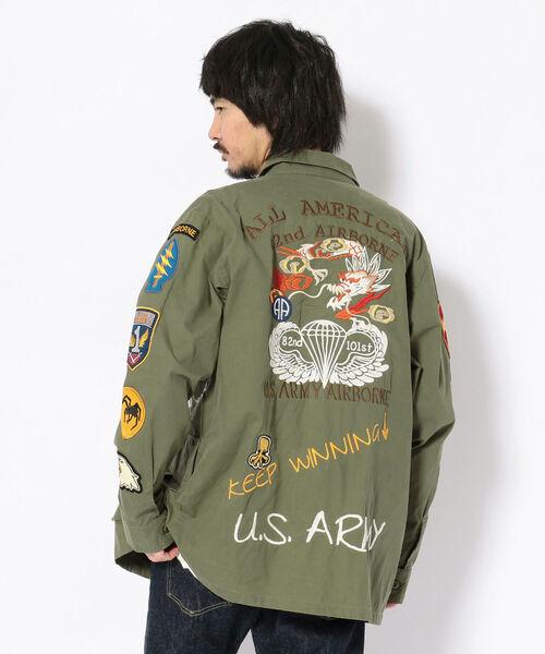 衝撃特価 【セール セール,SALE,AVIREX】U.S.アーミー ジャングル ジャングル ファティーグシャツ/U.S.ARMY JUNGLE FATIGUE SHIRT(ミリタリージャケット) FATIGUE|AVIREX(アヴィレックス)のファッション通販, e-ショップオークワ:fe36425f --- tsuburaya.azurewebsites.net