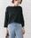 URBAN RESEARCH ROSSO WOMEN(アーバンリサーチ ロッソ)の「アシメデザインガーターホールニット(ニット/セーター)」|ネイビー