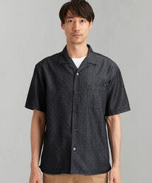 CM インディゴドビー オープンカラー 半袖 / シャツ