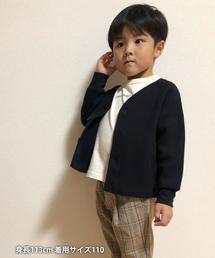 【coen キッズ / ジュニア】ワッフルカーディガン