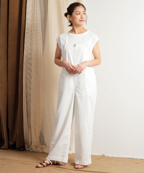 予約販売 「KHA:KI// カーキ」リネンコットンキャンバスオーバーオール'LINEN OVERALLS'(パンツ)|kha:ki(カーキ)のファッション通販, 布の店ブーケ:6376998d --- pitomnik-zr.ru