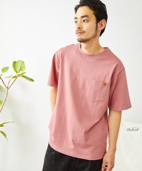 UNIVERSAL OVERALL/ユニバーサルオーバーオール POCKET TEE ポケット付きTシャツ