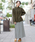 FELLINI(フェリーニ)の「裏ベロアイージーマキシスカート(スカート)」|グレー