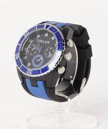 abf336fd81 STYLEBLOCK(スタイルブロック)の「バイカラーラバーベルト腕時計(腕時計)」