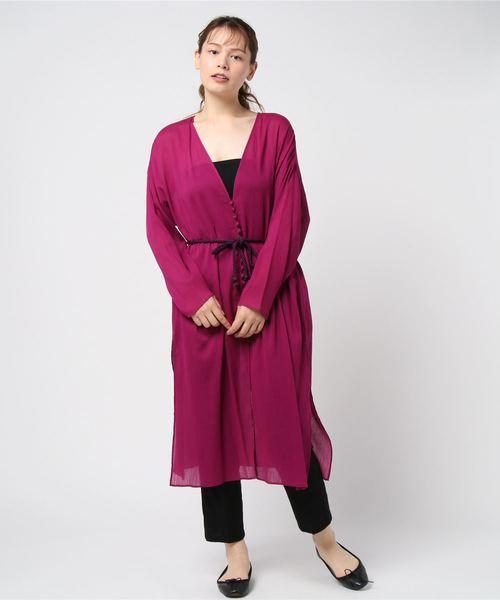 お気に入り 【セール la】コットン楊柳ガウンワンピース(ワンピース) セール,SALE,Rouge vif|Rouge vif(ルージュヴィフ)のファッション通販, NORTH LEAF:70b08ed7 --- annas-welt.de