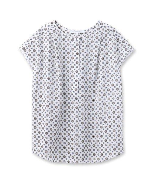 [L]オリエンタルモチーフシャツ