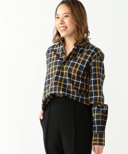 若者の大愛商品 ORIAN/ ウィンドウペン/ オーバーシャツ(シャツ/ブラウス) Demi-Luxe BEAMS(デミルクス Demi-Luxe ビームス)のファッション通販, 愛筆屋:f516f872 --- 5613dcaibao.eu.org