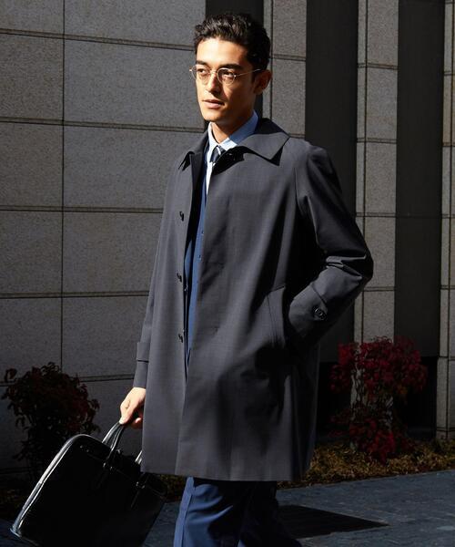 【WORK TRIP OUTFITS】WTO 3WAY ステンカラーコート <取り外し・単品着用可能なライナー付き>