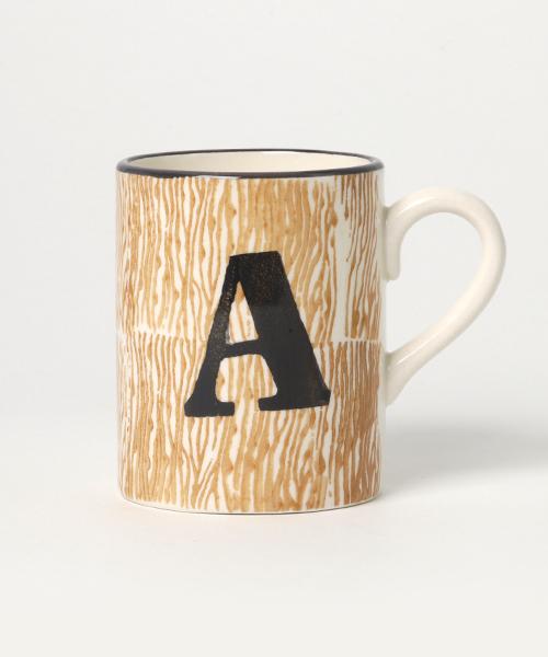 TIMELESS COMFORT(タイムレスコンフォート)の「アルファベットマグ(グラス/マグカップ/タンブラー)」 A