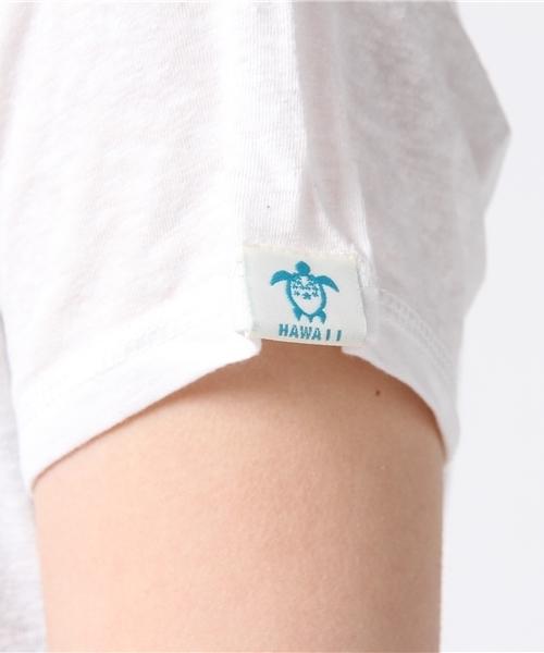ハワイアンリゾートアロハロゴTシャツ