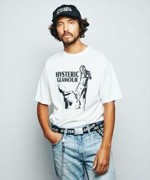 BE@RTEE×HYSTERIC GLAMOUR プリント Tシャツ
