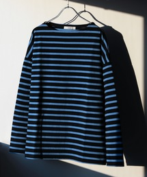 JOURNAL STANDARD relume(ジャーナルスタンダード レリューム)の【ZOZOTOWN限定】ドライコットン ボーダーフレンチ ロングTシャツ(Tシャツ/カットソー)