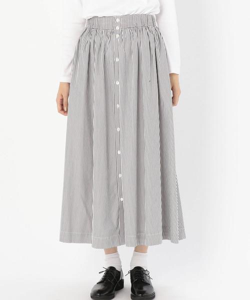 新しいスタイル 【セール】【Gymphlex】ストライプ ギャザースカート NTS WOMEN(スカート)|GYMPHLEX(ジムフレックス)のファッション通販, 小坂町:9d3531eb --- rise-of-the-knights.de