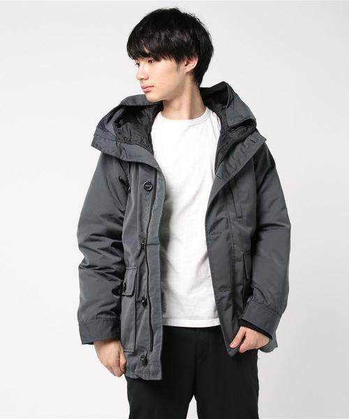 【OUTDOOR PRODUCTS】ブラックライン 撥水蓄熱中綿コート タウンユース アーバンアウトドアスタイルデザイン