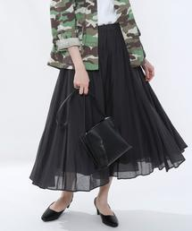 ソリッドマキシスカート#