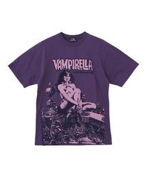 VAMPIRELLA/WHEN WAKES THE DEAD Tシャツパープル