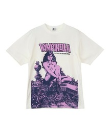 VAMPIRELLA/WHEN WAKES THE DEAD Tシャツホワイト