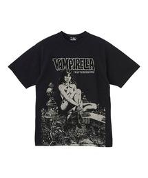 VAMPIRELLA/WHEN WAKES THE DEAD Tシャツブラック