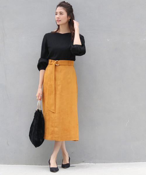 最安価格 スエードセミフレアスカート(スカート)|BABYLONE(バビロン)のファッション通販, アンティークガレ:58267cfd --- 888tattoo.eu.org
