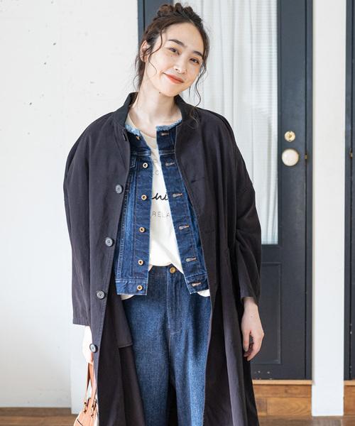 日本初の フェイクGジャンコート(ステンカラーコート) ce pual ce pual ce cin(ピュアルセシン)のファッション通販, イキシ:c30e86b1 --- 5613dcaibao.eu.org