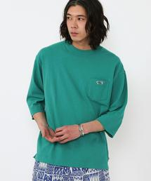 PENNEYS(ペニーズ)別注ビッグシルエットワンポイント5分袖Tシャツ#