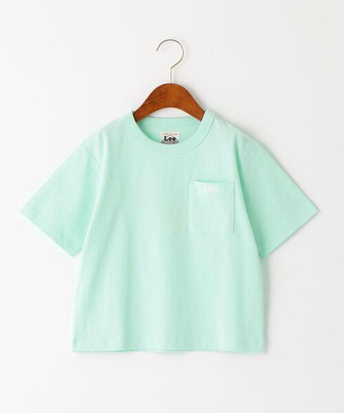 【キッズ】〔WEB限定〕LEE(リー)ポケットTシャツ