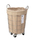 BRID(ブリッド)の「ブリッド ワイヤーアーツ&プロ ラウンド バスケット キャスター付き 収納 洗濯かご ランドリー ボックス / BRID WIRE ARTS & PRO.laundry ROUND BASKET WITH CASTER_33L(ランドリーグッズ)」|詳細画像