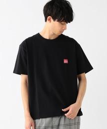 B:MING by BEAMS(ビーミングバイビームス)のManhattan Portage / ロゴ プリントTシャツ(Tシャツ/カットソー)