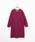 coen(コーエン)の「【ムック本掲載・WEB限定カラー:ダークグリーン・手洗いできる・着丈100cm】ラムウールVネックワンピース(ワンピース)」|詳細画像
