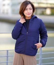 GIORDANO(ジョルダーノ)の[GIORDANO]パデッドフードジャケット(中綿)(ダウンジャケット/コート)