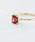 NOIR DE POUPEE(ノワールドプーペ)の「K10 天然石 クッションカット ゴールドリング(リング)」 詳細画像