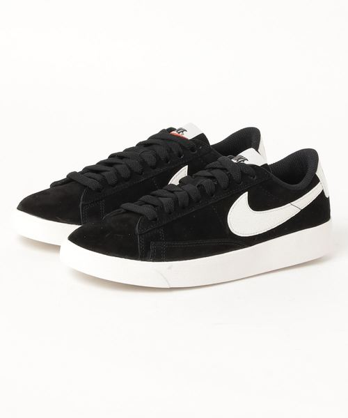 new product a84b0 31b46 NIKE W BLAZER LOW SD (BLACK/SAIL-SAIL)