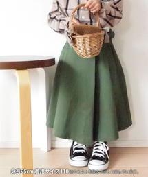 【coen キッズ / ジュニア】ツイルグルカロングスカート(グルカスカート)